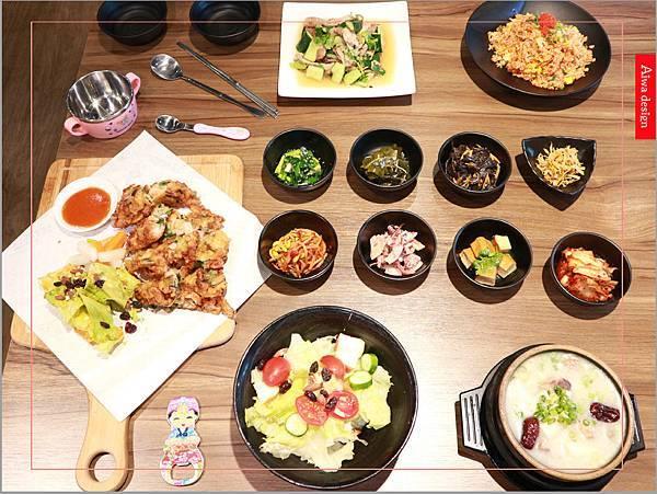 【新竹美食週記】喜樂韓式料理-山上的階梯。海鮮煎餅料多味美。道道地地的韓式料理。小菜無限供應。好停車-01.jpg