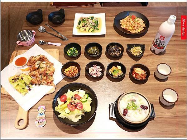 【新竹美食週記】喜樂韓式料理-山上的階梯。海鮮煎餅料多味美。道道地地的韓式料理。小菜無限供應。好停車-02.jpg