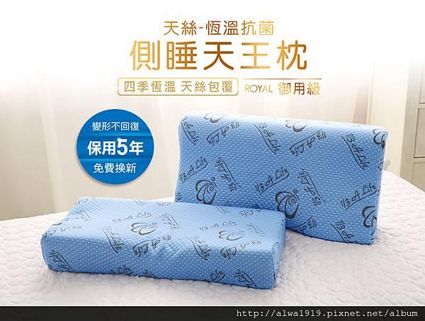 【居家好物】 A Life 睡眠館,枕頭。床墊。乳膠。睡眠好幫手。枕皇+天后,科技涼感側睡記憶枕-23