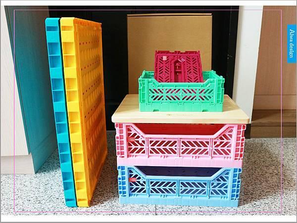【收納好物】土耳其AYKASA多色摺疊收納籃,耐重、收納、家用露營的好幫手,可當小邊桌,環保居家新選擇-02.jpg