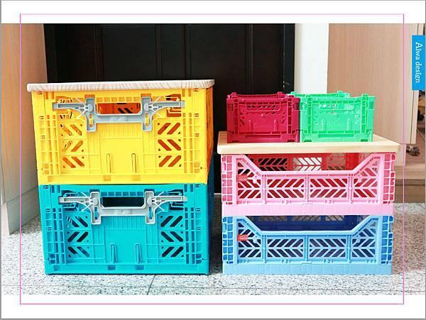 【收納好物】土耳其AYKASA多色摺疊收納籃,耐重、收納、家用露營的好幫手,可當小邊桌,環保居家新選擇-03.jpg