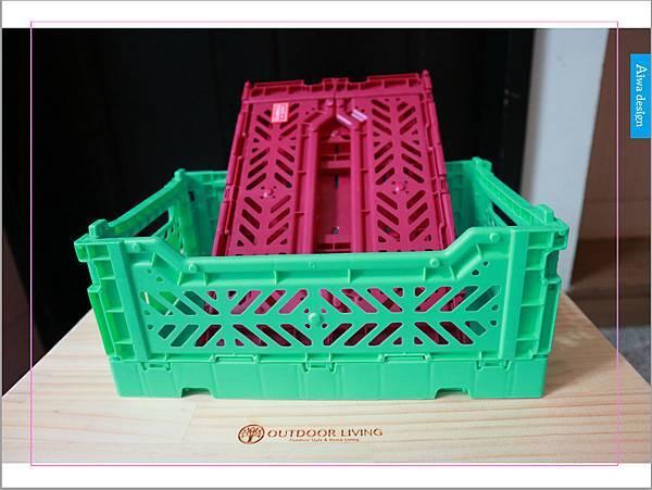 【收納好物】土耳其AYKASA多色摺疊收納籃,耐重、收納、家用露營的好幫手,可當小邊桌,環保居家新選擇-12.jpg