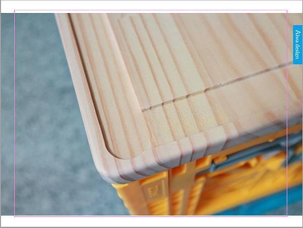 【收納好物】土耳其AYKASA多色摺疊收納籃,耐重、收納、家用露營的好幫手,可當小邊桌,環保居家新選擇-17.jpg