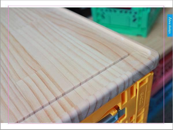 【收納好物】土耳其AYKASA多色摺疊收納籃,耐重、收納、家用露營的好幫手,可當小邊桌,環保居家新選擇-18.jpg