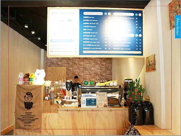 【新竹美食週記】聚咖啡 together cafe,上班族外帶咖啡專門店,環境友善,平價的好味道-12.jpg
