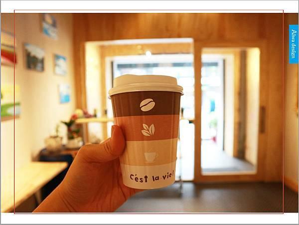 【新竹美食週記】聚咖啡 together cafe,上班族外帶咖啡專門店,環境友善,平價的好味道-30.jpg