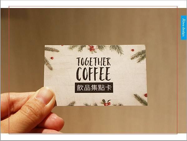 【新竹美食週記】聚咖啡 together cafe,上班族外帶咖啡專門店,環境友善,平價的好味道-32.jpg
