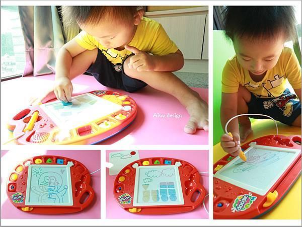 【育兒好物】RUNALAND音樂磁性畫板,家有小小畢卡索-會唱歌的畫板-封面.jpg