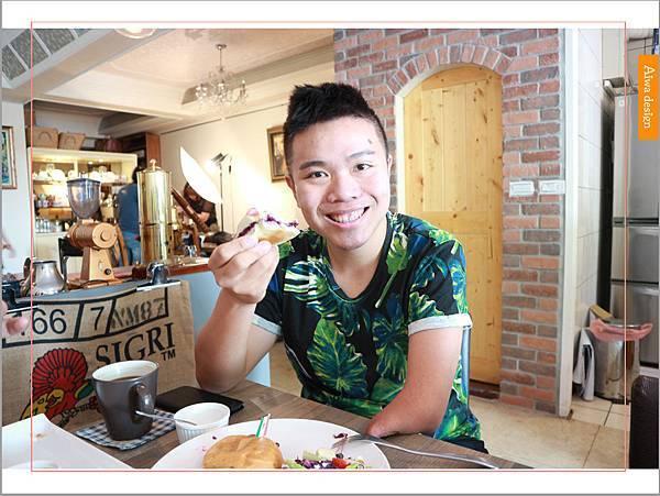【新竹美食週記】楓咖啡,輕食早午餐美味滿分,堅持烘培生豆鮮煮好味-32.jpg