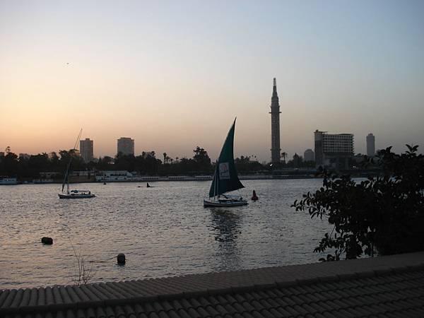 Sunset glow Nile.JPG