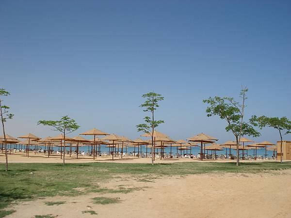 有私人別墅會員証才能進入的沙灘.JPG