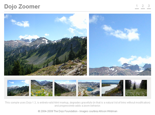 Dojo:Zoomer - Fun with Images and JavaScript