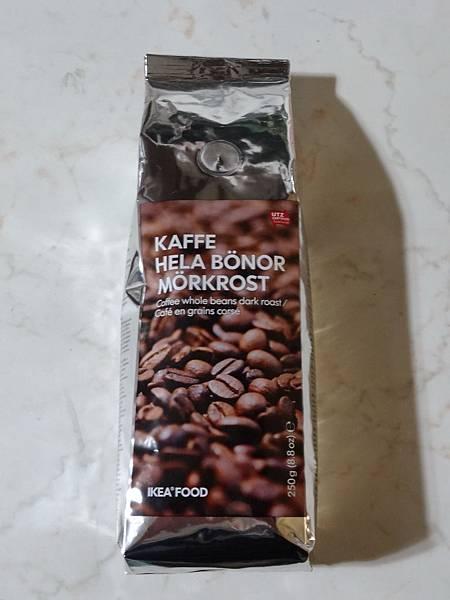 IKEA KAFFE HELA BÖNOR MÖRKROST UTZ認證優質咖啡豆-重烘