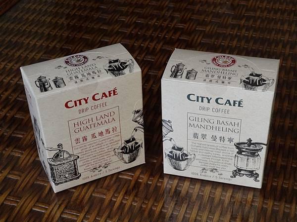 7-11 CITY CAFÉ 濾掛式咖啡 翡翠曼特寧/雲霧瓜地馬拉
