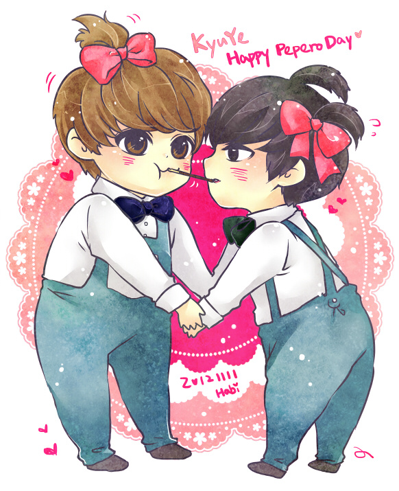 #20121111 HAPPY PEPERO DAY# #KYUYE# #圭云# 一