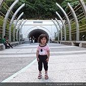 0703中山大學隧道口