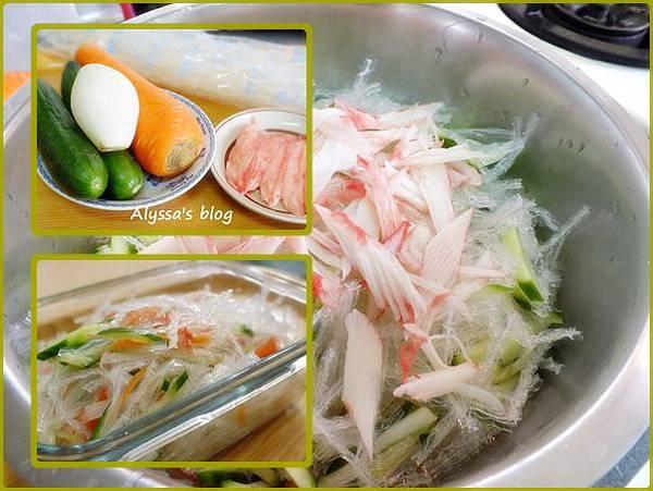 323小黃瓜蟹肉寒天涼菜04
