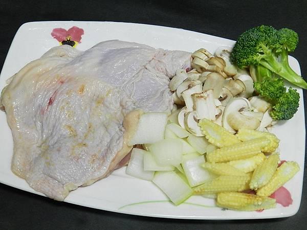 洋蔥雞腿材料2