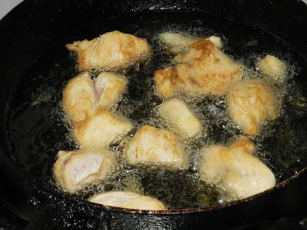 糖醋雞胸炸肉