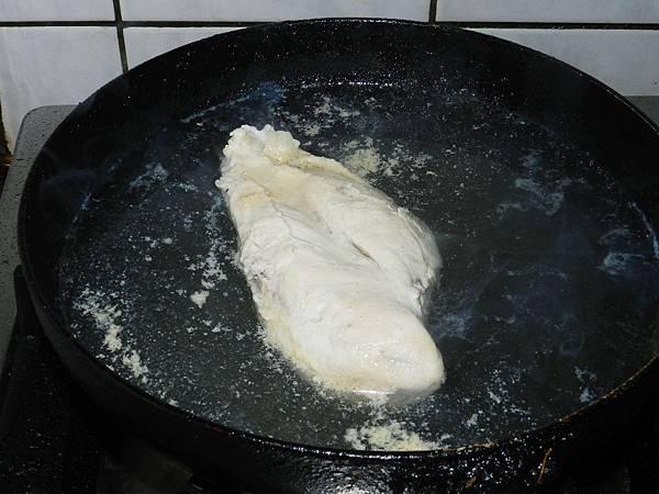 銀芽雞絲煮雞胸肉
