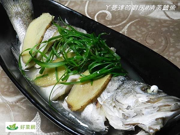 清蒸鱸魚成品5
