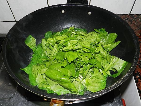 水煮菠菜下水煮