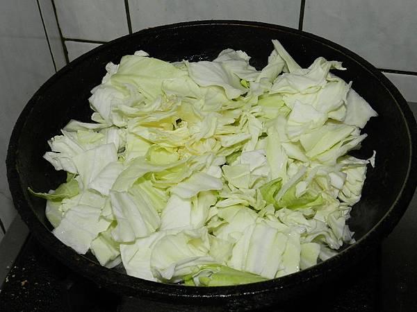 高麗菜入高麗菜炒