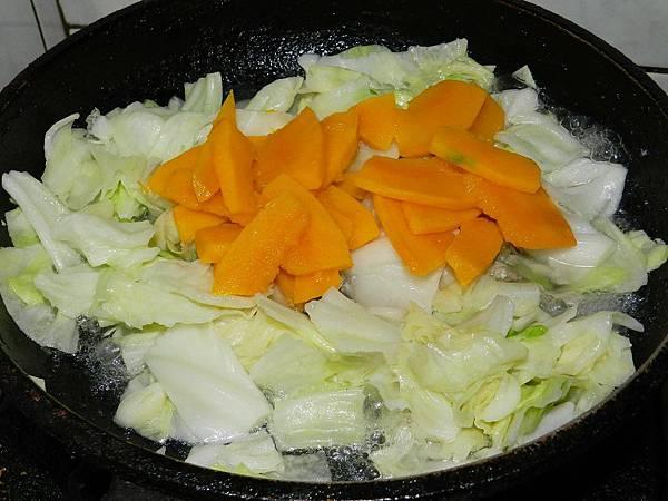 高麗菜加南瓜