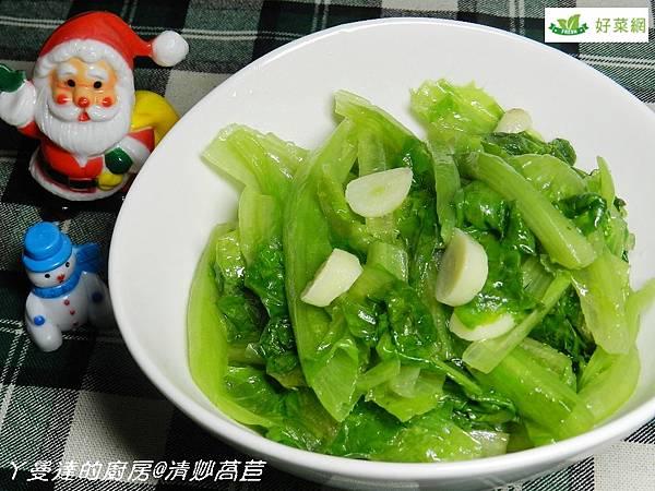 炒萵苣成品3