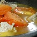 蕃茄排骨湯成品3