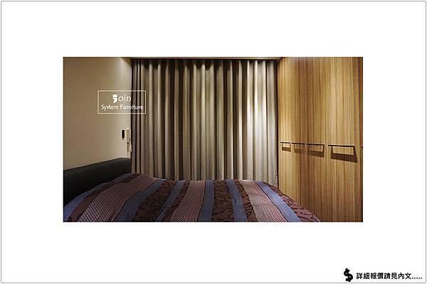 築宜系統傢俱║系統家具│新竹東區馬宅_39(主臥房報價)