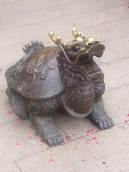 龍龜-觸口龍隱寺