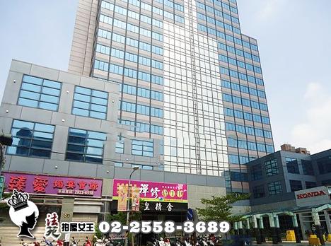 永和區 成功路一段8V號15樓【永安科技大樓】附車位︱景觀廠辦︱近福和橋︱運動中心