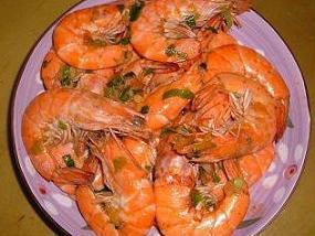 十分鐘上菜,帶殼蝦料理,炒蝦,鮮蝦,鹹酥,鹽炒蝦