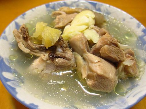 老薑蒜頭雞湯-.JPG
