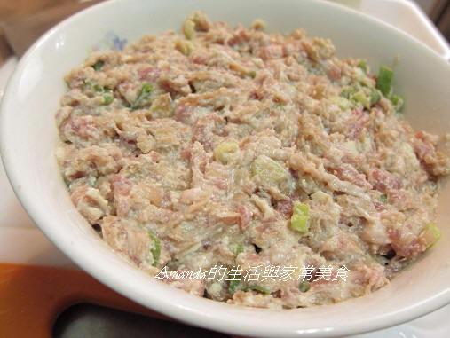 菜乾蒸肉-填碗抹平