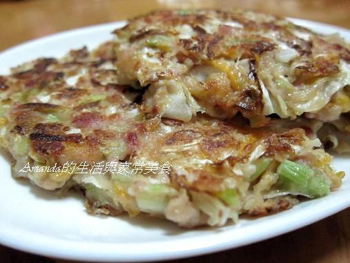蔬菜煎餅-厚餅
