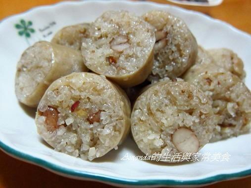 花生糯米腸-切片