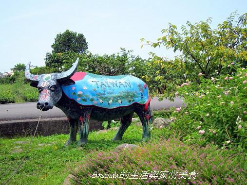 一佳村青草園-造型牛