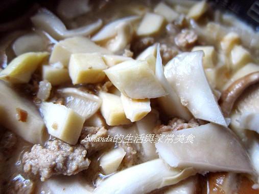 竹筍炊飯-營養美味快速懶人餐 竹筍炊飯-生米舖上食材