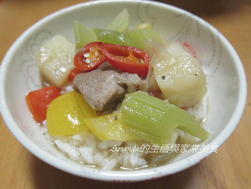 鮮蔬燉肉燴飯