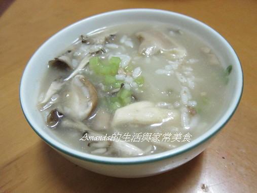 瓠瓜菌菇粥