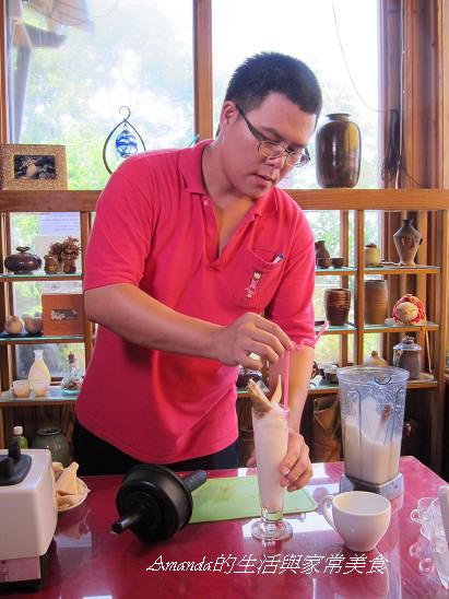 桃樂絲-製做竹筍冰沙 (1)