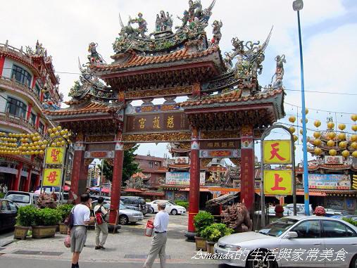 金包里老街-媽祖廟