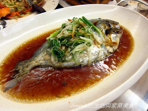 祥瑞渡小月-富貴海上鮮(蒸魚)