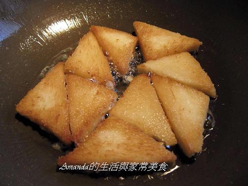吐司炸肉餅-油炸 (2)