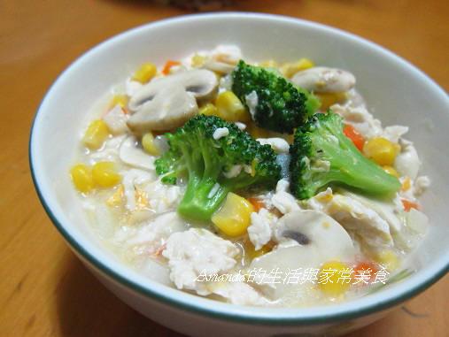 雞蓉玉米燴飯