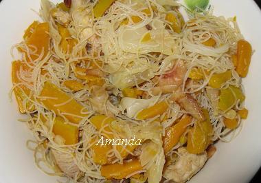 金瓜米粉剩菜