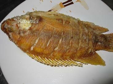 酥炸尼羅紅魚