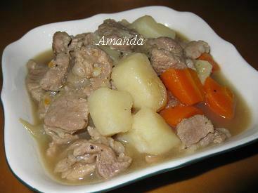 馬鈴薯燉肉片